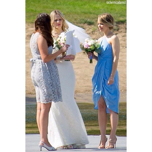 """<p>Sisters are essentially built-in bridesmaids. Rachel McAdams' sister Kayleen asked Rachel to be maid of honor when she got <a href=""""https://www.dailymail.co.uk/tvshowbiz/article-3095632/PICTURE-EXCLUSIVE-Bridesmaid-Rachel-McAdams-breaks-tears-sister-Kayleen-s-wedding-nearly-outshines-bride-pretty-blue-dress.html"""" rel=""""nofollow noopener"""" target=""""_blank"""" data-ylk=""""slk:married in May 2015"""" class=""""link rapid-noclick-resp"""">married in May 2015</a>. </p><p><a href=""""https://www.instagram.com/p/3M3tX1wbL-/"""" rel=""""nofollow noopener"""" target=""""_blank"""" data-ylk=""""slk:See the original post on Instagram"""" class=""""link rapid-noclick-resp"""">See the original post on Instagram</a></p>"""