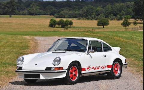 <span>A Porsche 911 Carrera RS 2.7 touring coupe, similar to the one bought by Andreas Pohl</span>