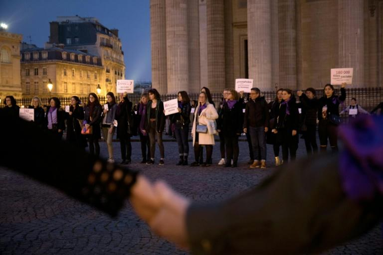 Some 115 women have been murdered in France so far this year by their husband, partner or ex-partner in femicides, according to an AFP investigation (AFP Photo/-)