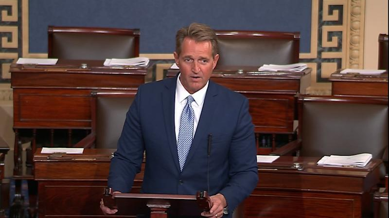 Sen. Flake's Emotional Retirement Speech