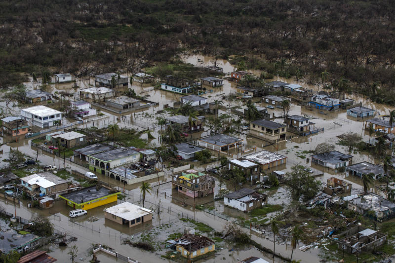 Puerto Rico Is Recovering Much More Slowly Than Texas and Florida. These Satellite Photos Prove It