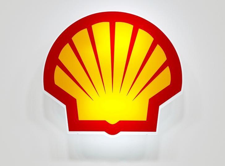 FILE PHOTO: The Shell logo is seen at the 20th Middle East Oil & Gas Show and Conference (MOES 2017) in Manama