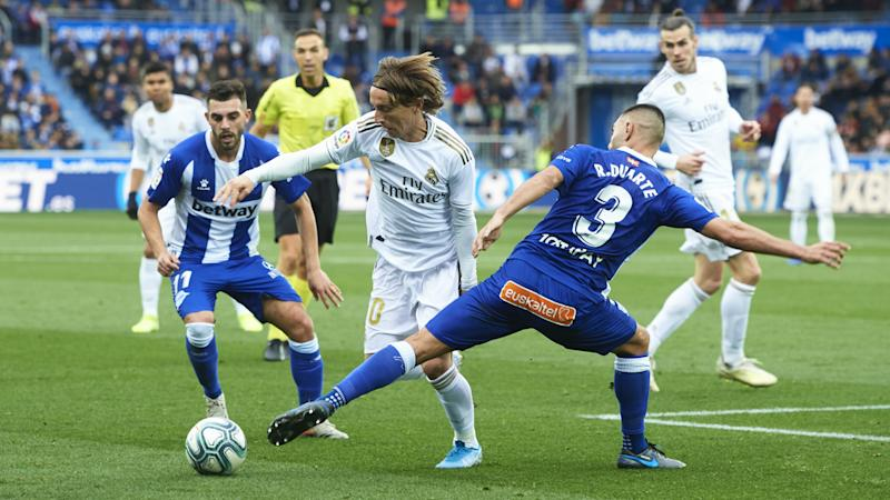 Deportivo Alaves 1-2 Real Madrid: Carvajal the hero as Los Blancos go top of LaLiga