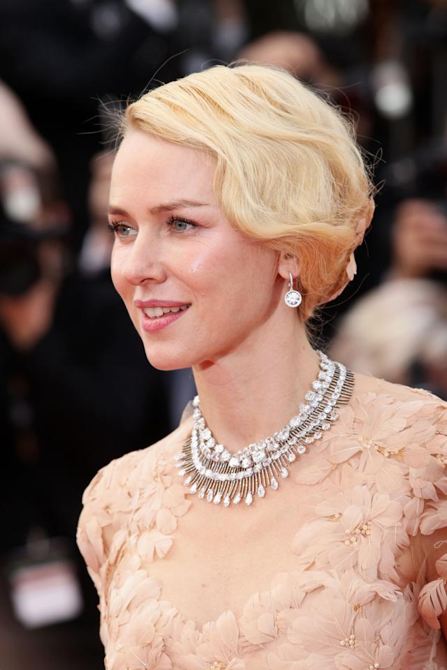 "CANNES, FRANCE - MAY 18:  Actress Naomi Watts attends the ""Madagascar 3: Europe's Most Wanted"" Premiere during the 65th Annual Cannes Film Festival at Palais des Festivals on May 18, 2012 in Cannes, France.  (Photo by Vittorio Zunino Celotto/Getty Images)"