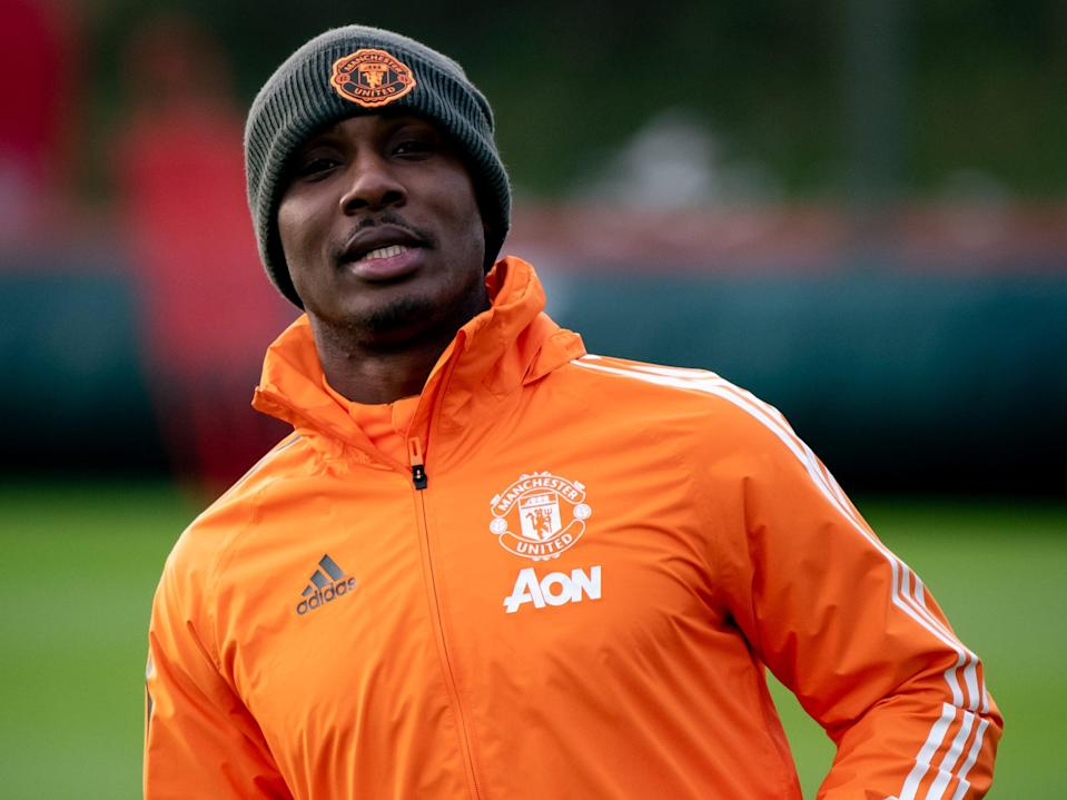 Manchester United striker Odion Ighalo (Manchester United via Getty Images)