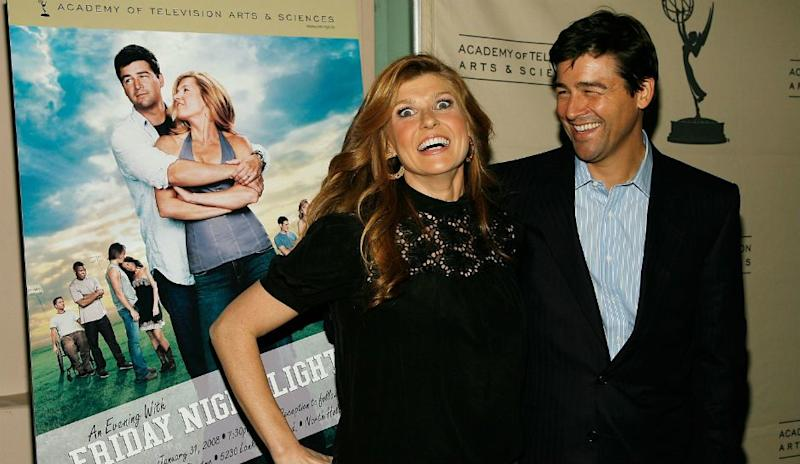 46fde0852e Kyle Chandler and Connie Britton attend an Event for  Friday Night Lights.