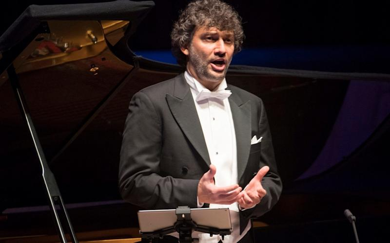 Jonas Kaufmann performing at the Barbican Hall - Alastair Muir