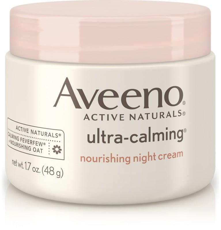 """<p>How could you not love something with """"ultra calming"""" in the name? By the end of the day, my skin is tired and needs a break, and this is the perfect remedy. It's another unscented option, for those with sensitive noses.</p> <p><span>Aveeno Ultra Calming Nourishing Night Cream</span> ($19)</p>"""