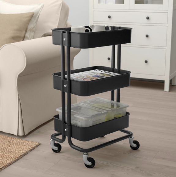 8 best trolleys to set up in any corner of your house
