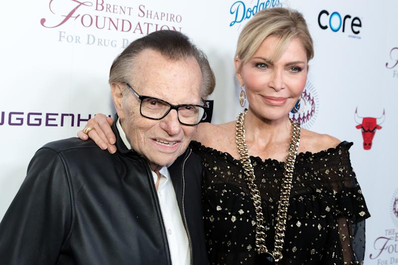 Larry King's Wife, 'I'm Not Going to Fight a Dying Man'