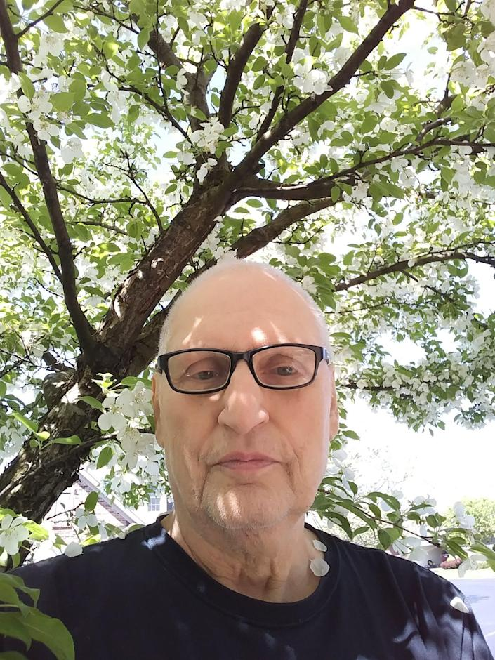 Martin Gugino, 75, was pushed by Buffalo Police officers in the aftermath of a rally in Buffalo on June 4. He went to the hospital with a fractured skull and brain injury. He has since recovered, and is hoping to move back to Buffalo in the fall.