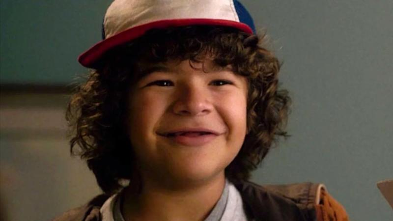 Gaten Matarazzo plays Dustin in Netflix's sci-fi drama 'Stranger Things'. (Credit: Netflix)