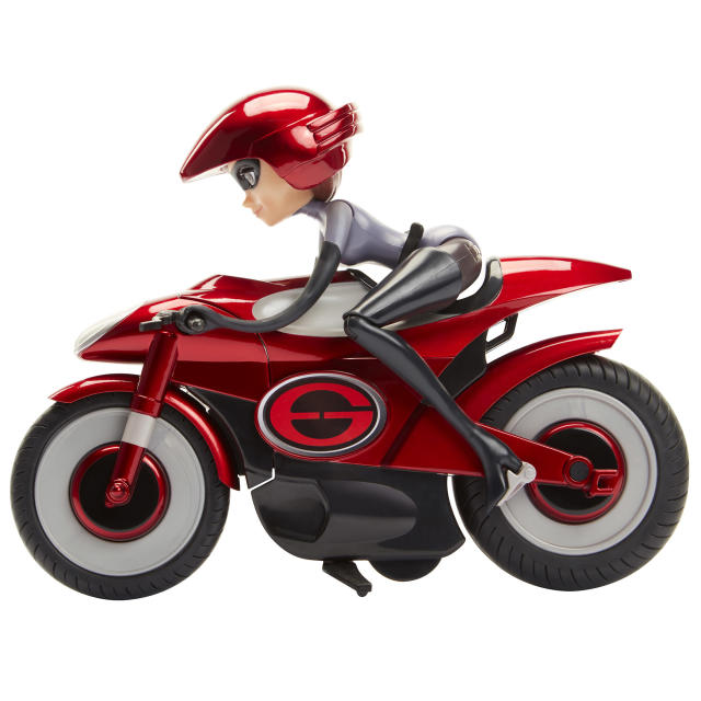 <p>Stretching and Speeding Elasticycle, Jakks Pacific, $39.99. (Photo: Courtesy of Disney Products and Interactive Media) </p>
