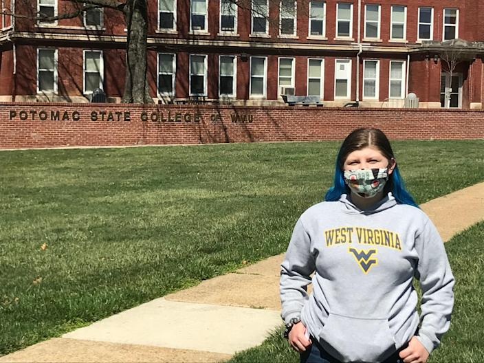 Kay Hill, 19, a student at West Virginia's Potomac State Campus in Keyser, said some businesses expect maximum effort even if they pay minimum wage.
