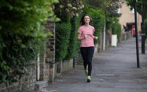 Anna Tyzack goes for an early morning run - Credit: Rii Schroer