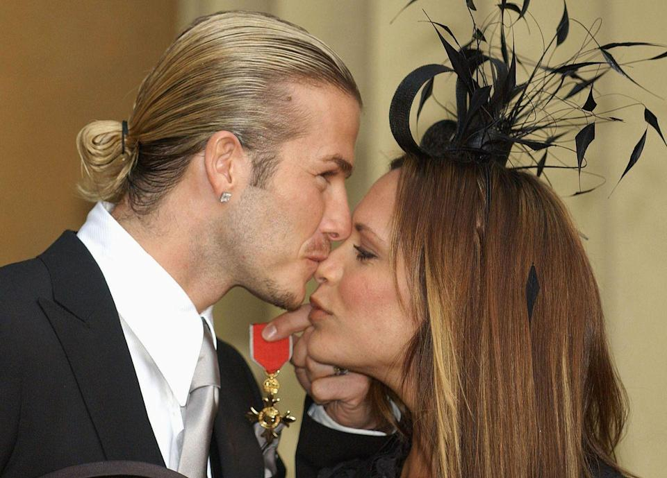 <p>Queen Elizabeth appointed Beckham an Officer of the Order of the British Empire (OBE) in 2003. (Victoria would receive the same honor years later in 2016).</p>