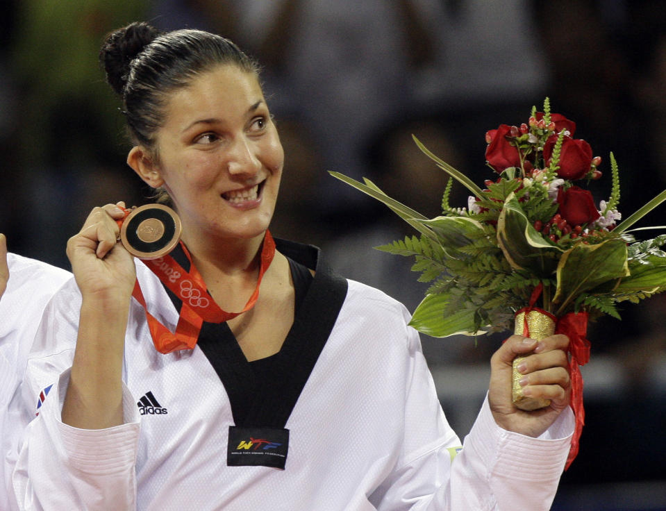 Stevenson ascended the Beijing podium in 2008 and is backing National Taekwondo Day to inspire thousands of young girls to follow in her footsteps