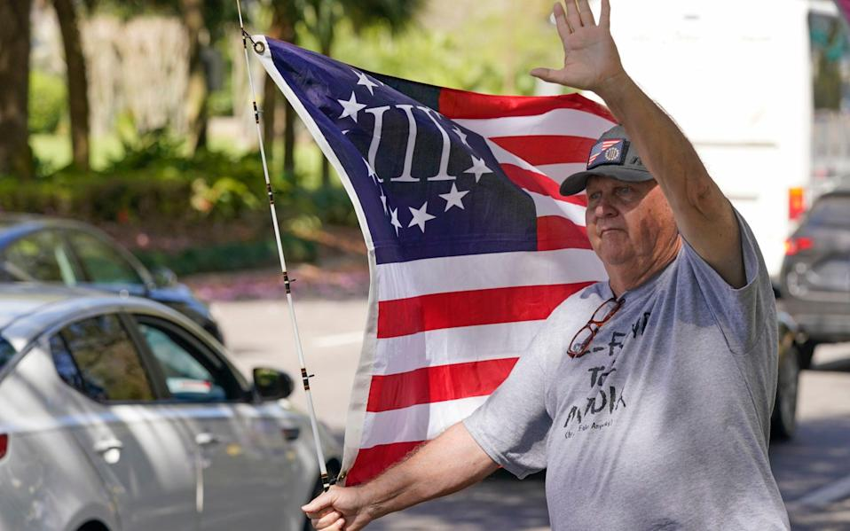 Trump supporters are looking forward to see their man back on the political scene - AP