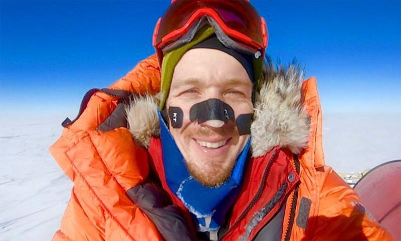 Colin O'Brady Becomes First Person to Cross Antarctica Solo — Then Makes Tearful Call to Wife