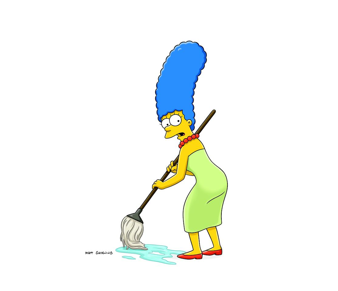 <p>Negli Stati Uniti è stata immediatamente paragonata a Marge Simpson. (Getty) </p>