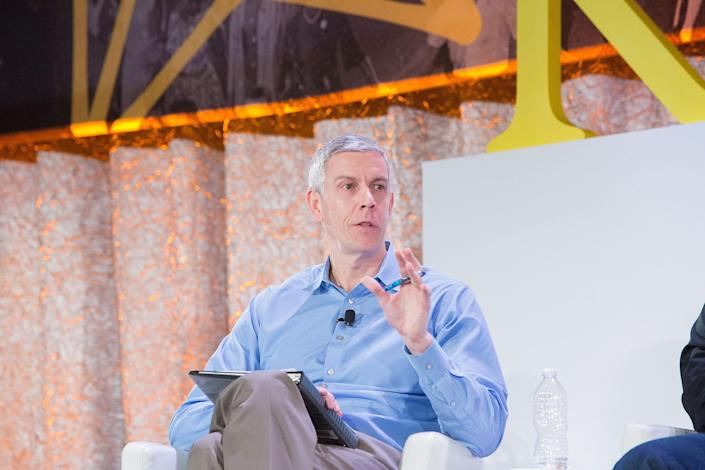 Former U.S. Education Secretary Arne Duncan said the United States has prioritized opening bars and restaurants over the safe reopening of schools. (Jeff Schear/Getty Images for Kennedy Forum)