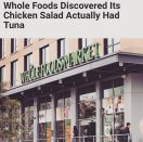 """<p>The singer took it way back to her first marriage and reality TV days as she referenced a Whole Foods Market's chicken salad–tuna snafu by poking fun at her own<a rel=""""nofollow noopener"""" href=""""https://www.youtube.com/watch?v=k2h72aXVP8o"""" target=""""_blank"""" data-ylk=""""slk:Chicken of the Sea moment"""" class=""""link rapid-noclick-resp""""> Chicken of the Sea moment</a>. """"It happens to the best of us @wholefoods,"""" she wrote. (Photo: <a rel=""""nofollow noopener"""" href=""""https://www.instagram.com/p/BWVMOqTgD8D/?taken-by=jessicasimpson"""" target=""""_blank"""" data-ylk=""""slk:Jessica Simpson via Instagram"""" class=""""link rapid-noclick-resp"""">Jessica Simpson via Instagram</a>) </p>"""