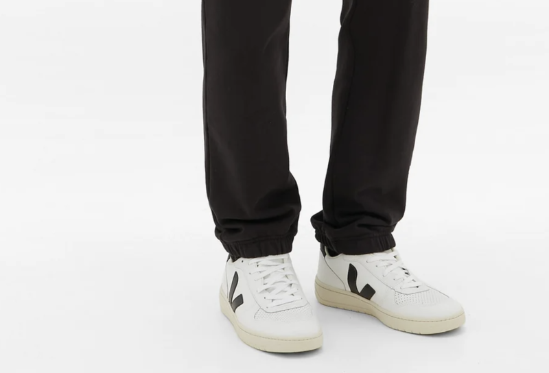Veja V-10 low-top leather trainers. (PHOTO: MatchesFashion)