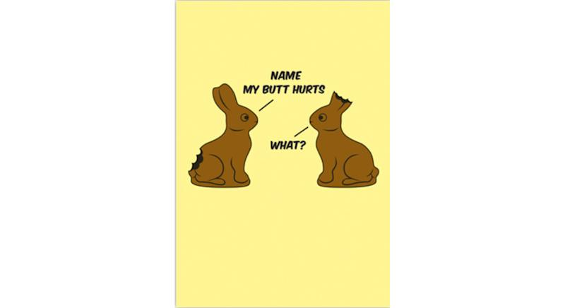 Snorgtees Chocolate Rabbits Easter Time