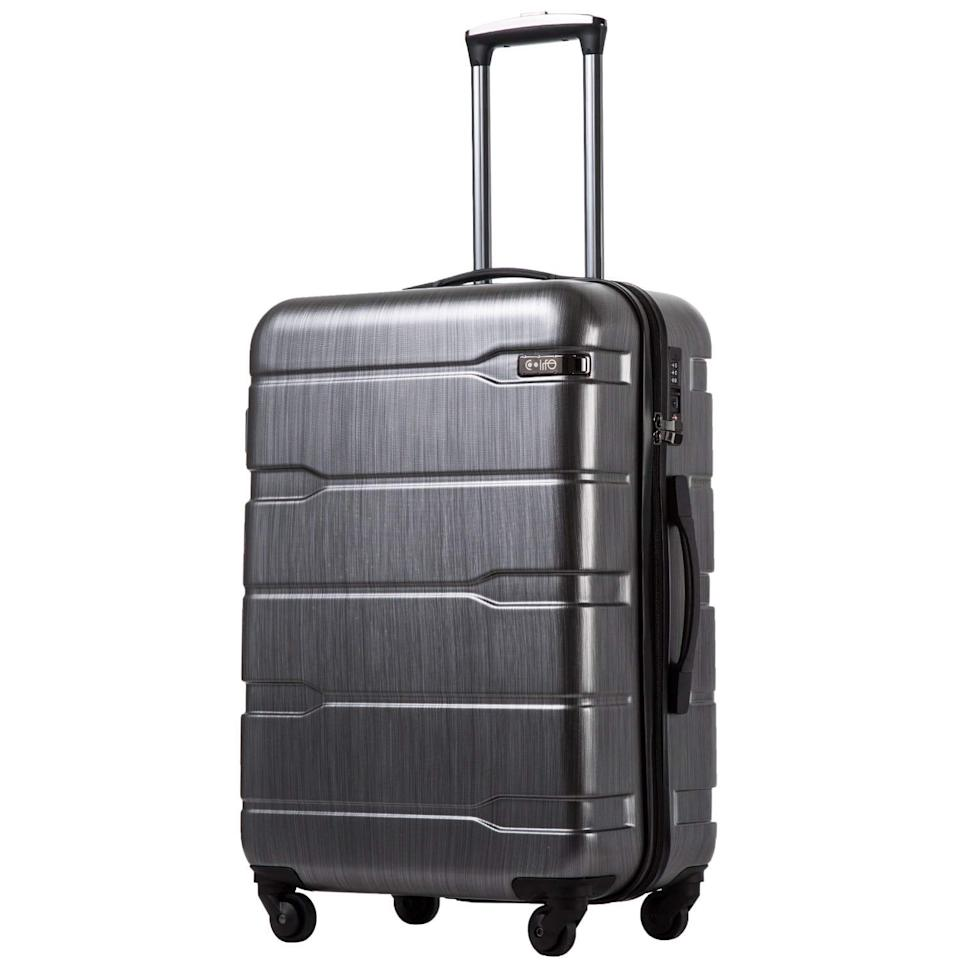 "<p>This <a href=""https://www.popsugar.com/buy/Coolife-Expandable-Luggage-444897?p_name=Coolife%20Expandable%20Luggage&retailer=amazon.com&pid=444897&price=60&evar1=savvy%3Aus&evar9=46162008&evar98=https%3A%2F%2Fwww.popsugar.com%2Fsmart-living%2Fphoto-gallery%2F46162008%2Fimage%2F46162064%2FCoolife-Expandable-Luggage&list1=shopping%2Ctravel%2Cluggage%2Csuitcases%2Ctravel%20style&prop13=api&pdata=1"" rel=""nofollow"" data-shoppable-link=""1"" target=""_blank"" class=""ga-track"" data-ga-category=""Related"" data-ga-label=""https://www.amazon.com/COOLIFE-Expandable-Suitcase-Charcoal-20in_Carry/dp/B07CVG467T/ref=sr_1_3?keywords=suitcase&amp;qid=1557339461&amp;s=gateway&amp;sr=8-3&amp;th=1&amp;psc=1"" data-ga-action=""In-Line Links"">Coolife Expandable Luggage</a> ($60) is Amazon's high-rated suitcase, and it's easy to see why.</p>"