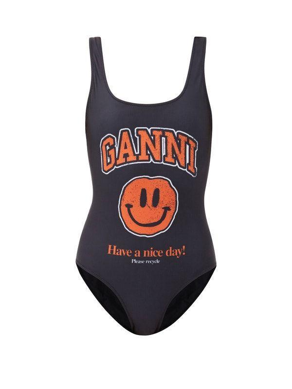 """<p><strong>Ganni</strong></p><p>matchesfashion.com</p><p><strong>$185.00</strong></p><p><a href=""""https://go.redirectingat.com?id=74968X1596630&url=https%3A%2F%2Fwww.matchesfashion.com%2Fus%2Fproducts%2F1387734&sref=https%3A%2F%2Fwww.marieclaire.com%2Ffashion%2Fg34414650%2Fswimsuit-trends-2021%2F"""" rel=""""nofollow noopener"""" target=""""_blank"""" data-ylk=""""slk:Shop Now"""" class=""""link rapid-noclick-resp"""">Shop Now</a></p>"""