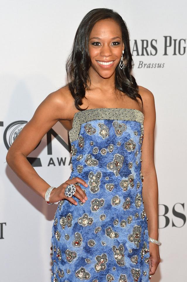 NEW YORK, NY - JUNE 10:  Nikki James attends the 66th Annual Tony Awards at The Beacon Theatre on June 10, 2012 in New York City.  (Photo by Mike Coppola/Getty Images)
