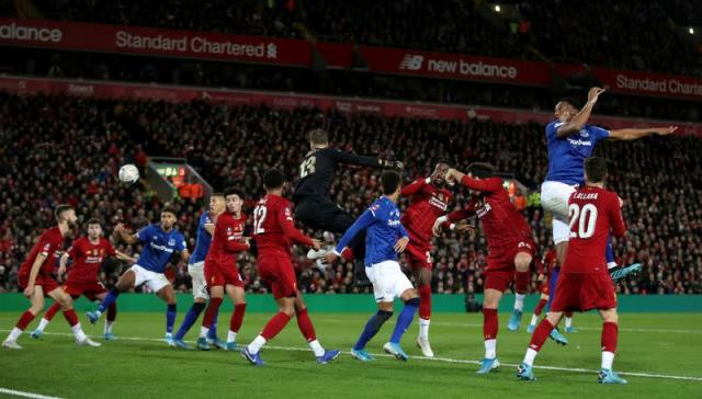 FILE PHOTO: FA Cup - Third Round - Liverpool v Everton