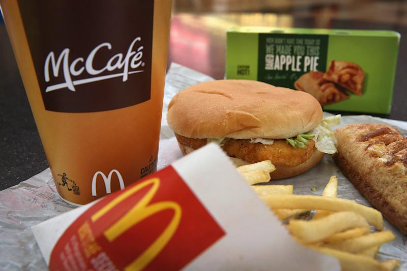 A police officer claimed McDonald's workers bit into his McChicken. He'd 'forgotten' he already ate it.