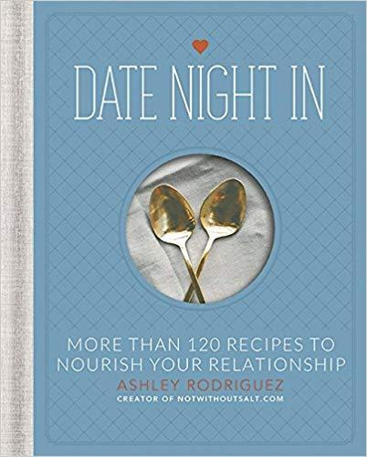 """<strong><h3><a href=""""https://amzn.to/2SdpvPF"""" rel=""""nofollow noopener"""" target=""""_blank"""" data-ylk=""""slk:Date Night Cookbook"""" class=""""link rapid-noclick-resp"""">Date Night Cookbook</a></h3></strong> <br>Why plan one special meal when you can gift an entire book full of them? This cute couples' cookbook is chalked full of delicious recipes specially designed for two.<br><br><strong>Ashley Rodriguez</strong> Date Night In: More than 120 Recipes to Nourish Your Relationship, $, available at <a href=""""https://amzn.to/2SrysoH"""" rel=""""nofollow noopener"""" target=""""_blank"""" data-ylk=""""slk:Amazon"""" class=""""link rapid-noclick-resp"""">Amazon</a><br>"""
