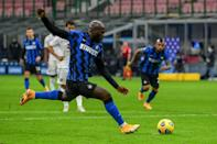 Inter Milan's Romelu Lukaku scored twice against Torino