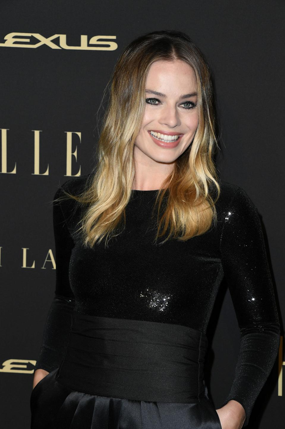"""Low-maintenance girls should make Margot Robbie their blond icon. """"I love this color because you get to have the best of both worlds, bright blond and easy grow-out,"""" says Grummel. """"Ask your stylist for brighter pieces around your face and lived-in highlights throughout the rest of your head."""""""