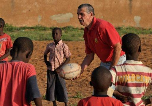 Rugby is a fringe activity in the west African country, introduced by French soldiers only in the 1970s. But it has become a lifeline for many disadvantaged children as they also learn reading and other life skills from volunteer tutors