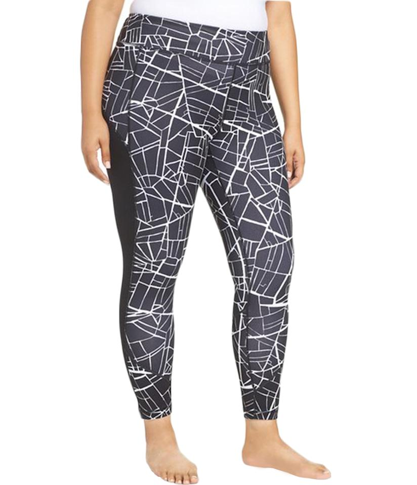 """<p>$75, <a rel=""""nofollow"""" href=""""http://shop.nordstrom.com/s/zella-fly-by-running-midi-leggings-plus-size/4313530?origin=category-personalizedsort&fashioncolor=BLACK%20AERIAL%20CITY%20PRINT"""">Nordstrom</a> </p>"""