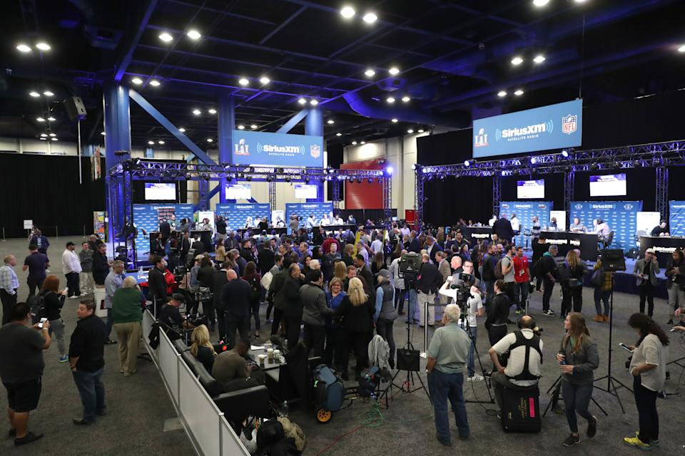Radio Row isn't happening this way this year. (Photo by Cindy Ord/Getty Images for SiriusXM)