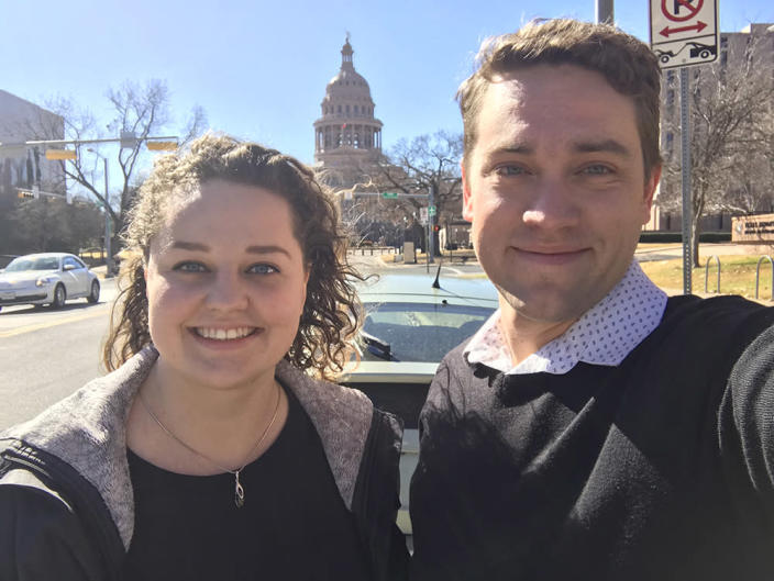 Asia Klekowicz and Ryan York founded a San Antonio charter school with a focus on social justice. (Asia Klekowicz and Ryan York)