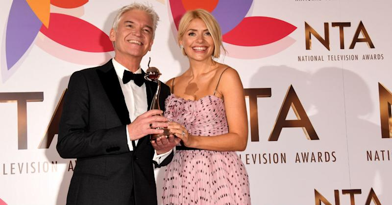 Holly Willoughby tears up talking about Phillip Schofield amid 'feud' rumours