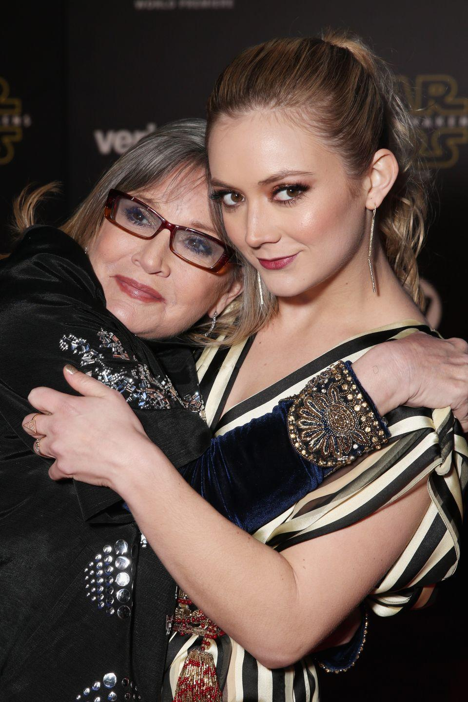 "<p>""<a href=""https://www.usmagazine.com/celebrity-news/pictures/sweetest-things-billie-lourd-has-said-about-carrie-fisher/"" rel=""nofollow noopener"" target=""_blank"" data-ylk=""slk:She taught"" class=""link rapid-noclick-resp"">She taught</a> me by her own example, that the most evolved person is seemingly a contradiction — they are both the strongest and the most vulnerable person in the room."" </p>"