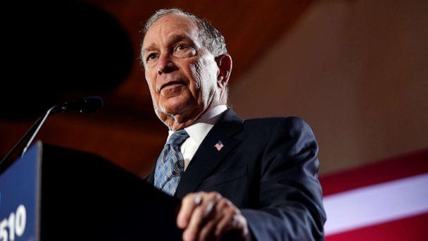 PHOTO: Democratic presidential candidate Michael Bloomberg speaks during a campaign event at the Bessie Smith Cultural Center in Chattanooga, Tenn., Feb. 12, 2020. (Douglas Strickland/Reuters)