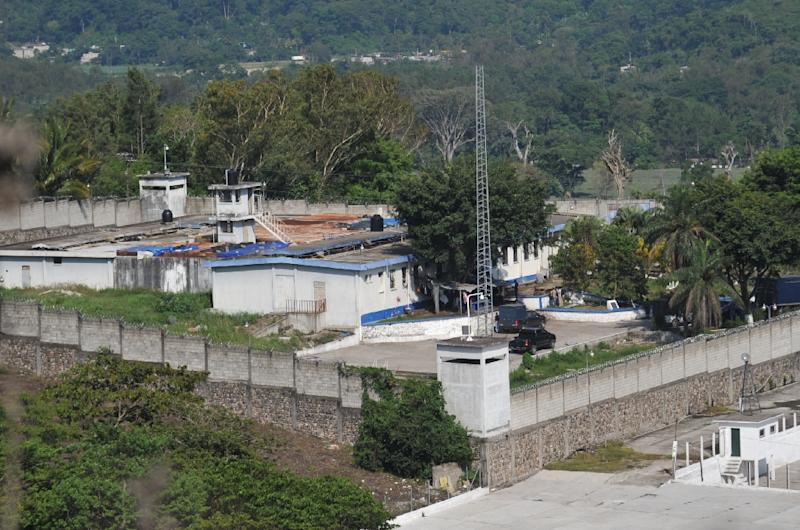 El Boqueron maximum security prison holds 521 inmates, including 286 who belong to the Mara Salvatrucha drug gang, whose members are known for their full-body tattoos