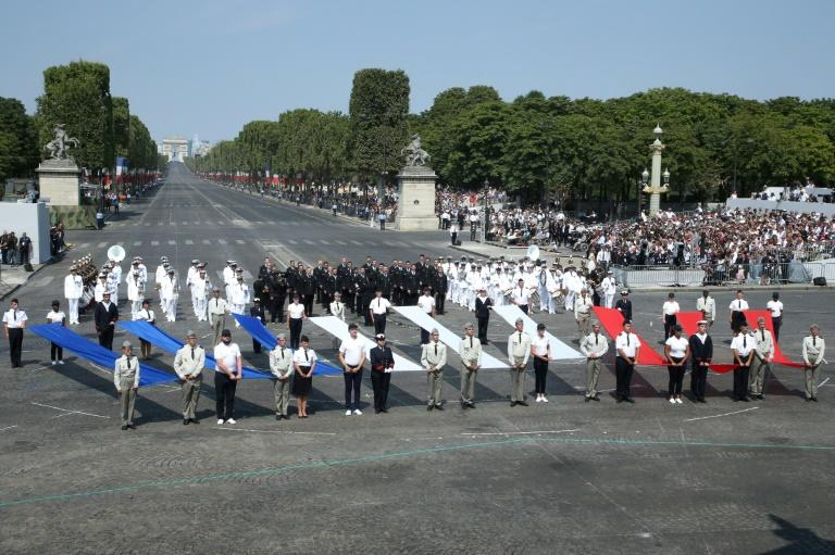 On Saturday the avenue hosted the traditional military parade for France's July 14 national holiday, Bastille Day