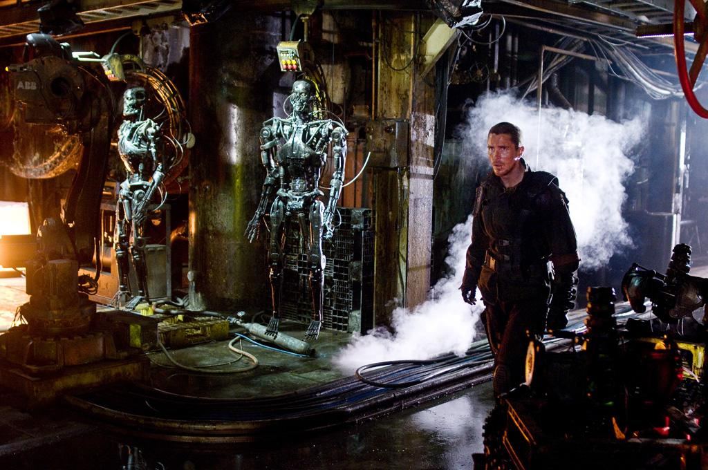 """5/2 - <a href=""""http://movies.yahoo.com/movie/1810025211/info"""">TERMINATOR SALVATION</a>   Christian Bale stars in this film which is both a sequel and a prequel to the wildly popular time-travel/killer robot action franchise."""