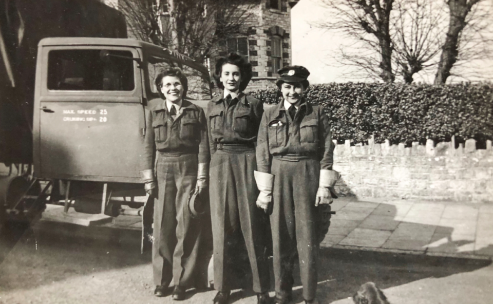 <em>RAF veteran Florence has lived in the south London home for over 50 years (Caters)</em>