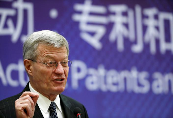 Former Sen. Max Baucus (D-Mont.) now says he supports the creation of a fully public federal insurance program. (Photo: Kim Kyung Hoon / Reuters)