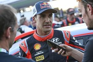 Hyundai World Rally Championship driver Dani Sordo has scotched speculation he is on the verge of a switch to the World Rallycross Championship to race the new Prodrive Renault