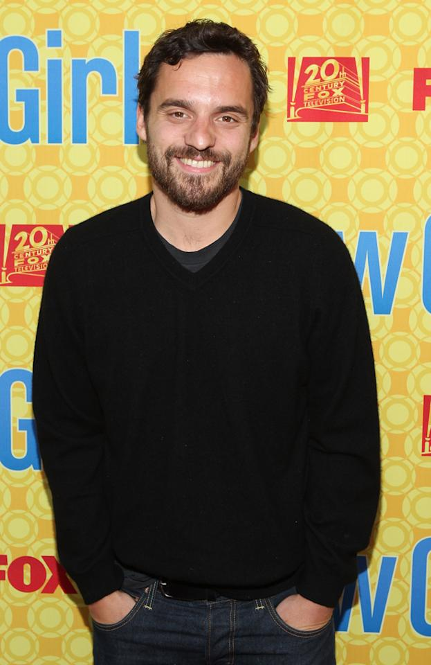 "Jake M. Johnson arrives at the ""New Girl"" screening hosted by The Academy of Television Arts  & Sciences at the Leonard H. Goldenson Theatre on May 7, 2012 in  North Hollywood, California."